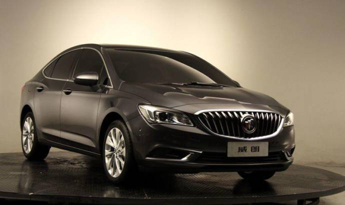 Buick Verano: new generation unveiled in Shanghai