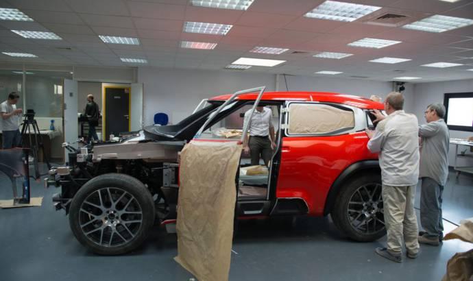 Citroen Aircross Concept design work detailed