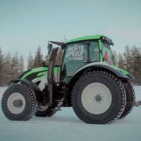 Juha Kankkunen set a new speed record with a tractor