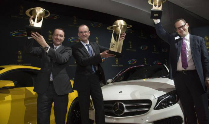 Mercedes-Benz C-Class is the 2015 World Car of the Year