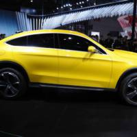 Mercedes-Benz Concept GLC Coupe storms in Shanghai