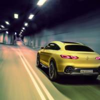 Mercedes-Benz GLC Coupe Concept - Official pictures and details