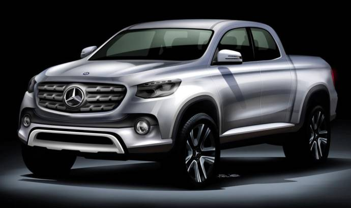 Mercedes-Benz confirm that their pickup will be built by Nissan