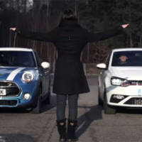MINI Cooper S and Volkswagen Polo GTI comparison test