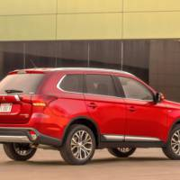 Mitsubishi Outlander facelift - Official pictures and details