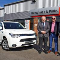 Mitsubishi sold 10.000 Outlander PHEV units in only one year in UK