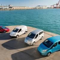 Nissan Leaf and e-NV200 round up the largest electric car fleet