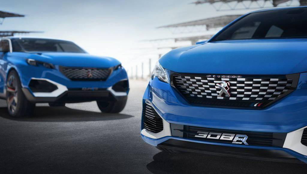 Peugeot 308 R HYbrid flexes its muscles in Shanghai