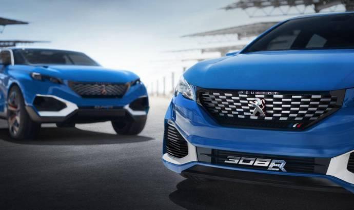 Peugeot 308 R HYbrid flexes its muscles in Shanghai