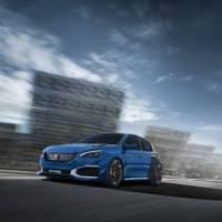 Peugeot 308 R Hybrid is a crazy hot hatch