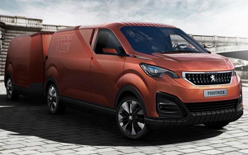 Peugeot FoodTruck Concept gets detailed