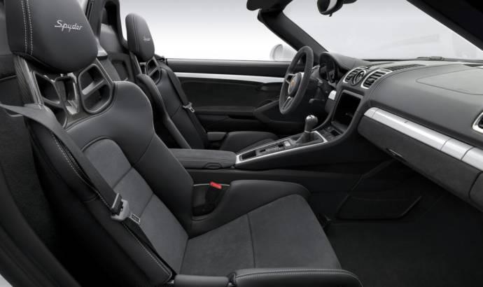 Porsche Boxster Spyder unveiled in New York