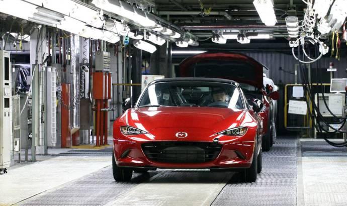 2015 Mazda MX-5 fuel consumption announced