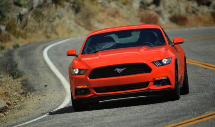 Ford Mustang Euro-spec - Performance details