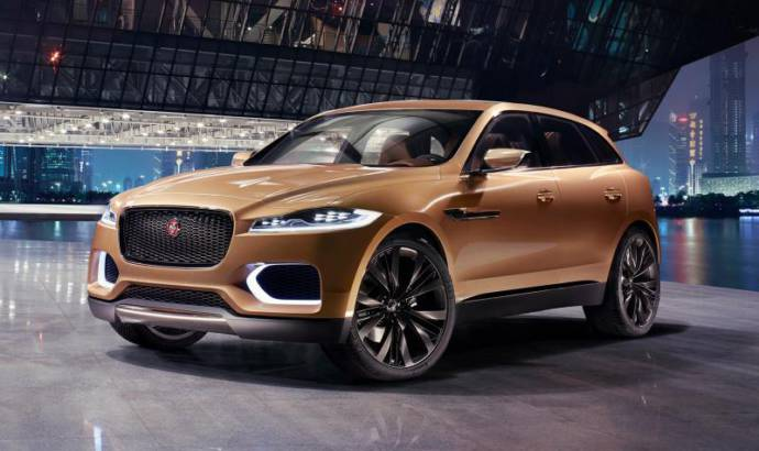 Jaguar F-Pace spied with heavy camouflage