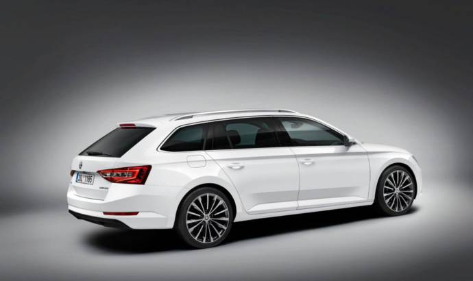 2015 Skoda Superb Combi - Official pictures and details
