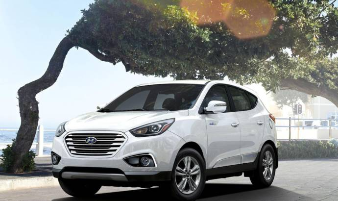 2016 Hyundai Tucson Fuell Cell gets updated