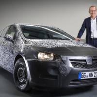 2016 Opel Astra official teasers