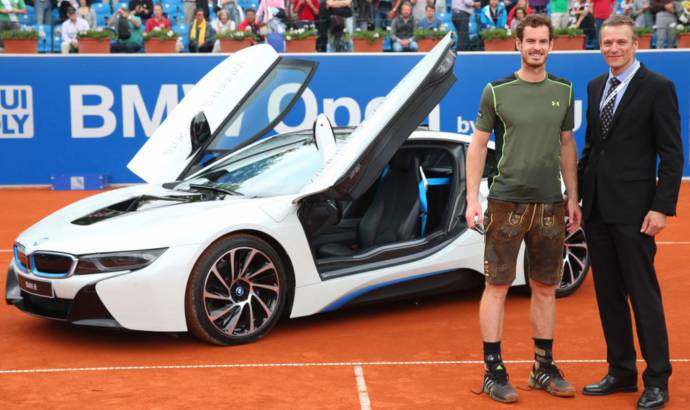 Andy Murray wins 2015 BMW Open and gets an i8 as prize