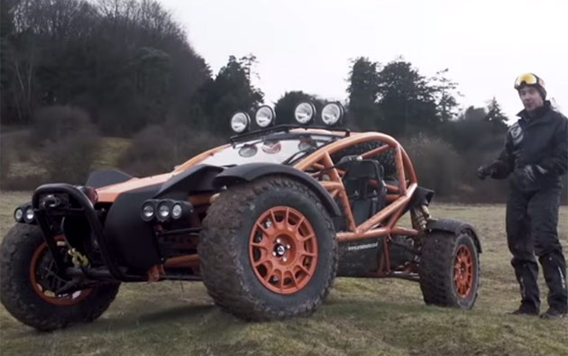 Ariel Nomad shows its off-road abilities