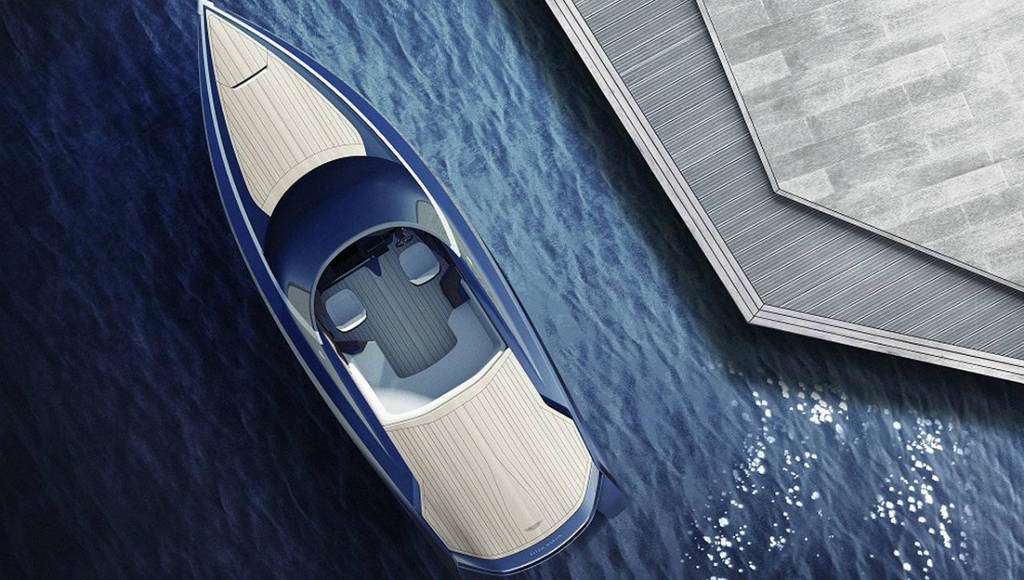 Aston Martin AM37 powerboat available this summer