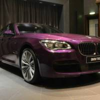 BMW 760Li gets Twilight Purple treatment