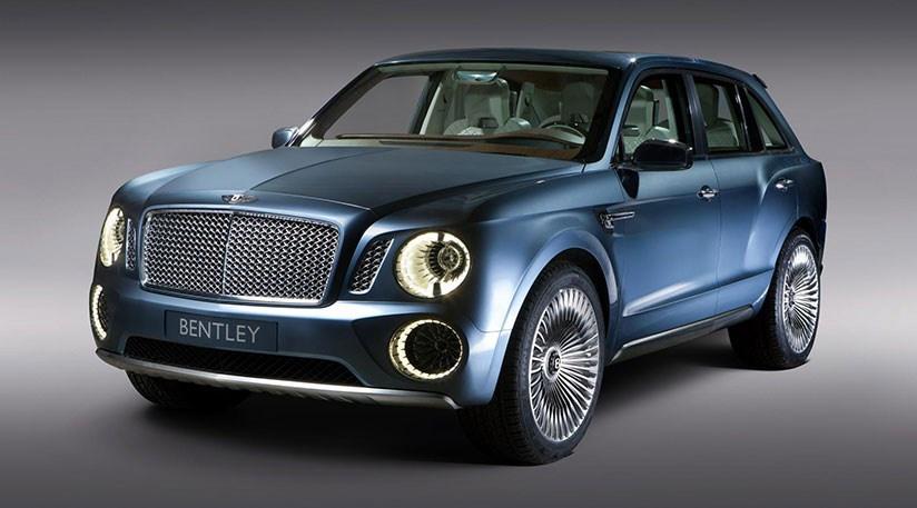 Bentley Bentayga spied on the Nurburgring