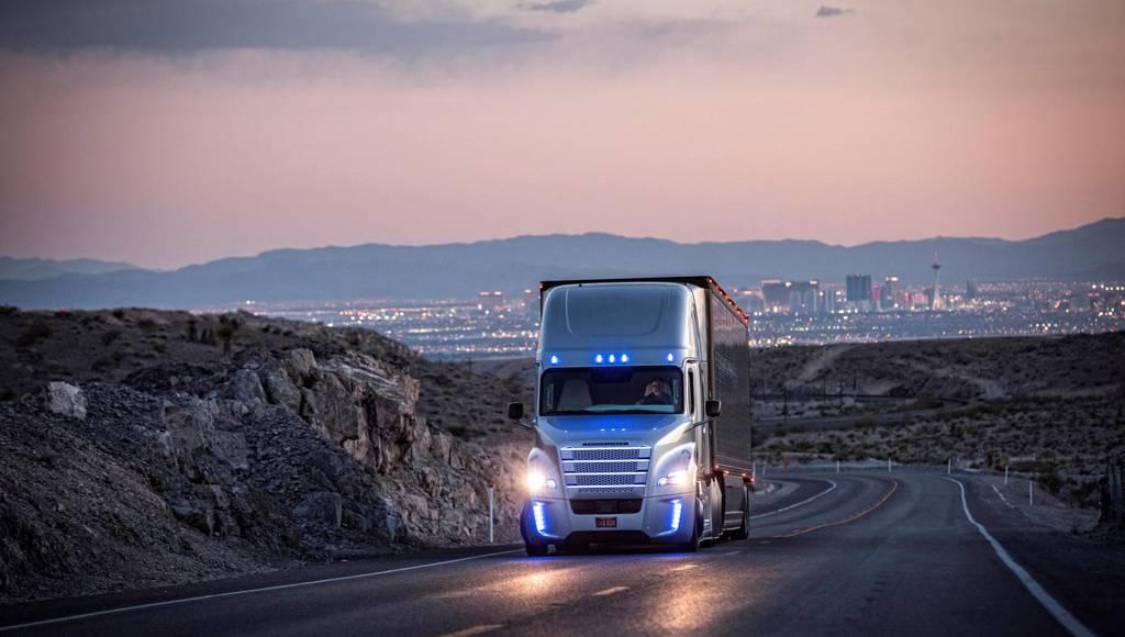 Freightliner Inspiration Truck is first legal autonomous car