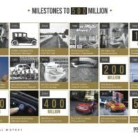 GM celebrates 500 million cars produced