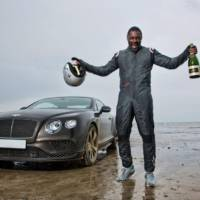Idris Elba sets new UK land speed record in a Bentley
