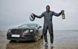 Idris Elba sets new UK land speed record in a Bentley