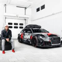 Jon Olsson acted like an Uber driver in his Audi RS6 DTM