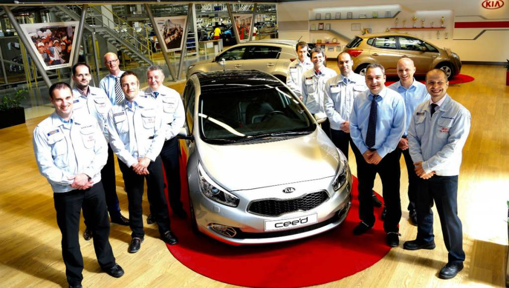 Kia ceed reaches one million units produced in Europe