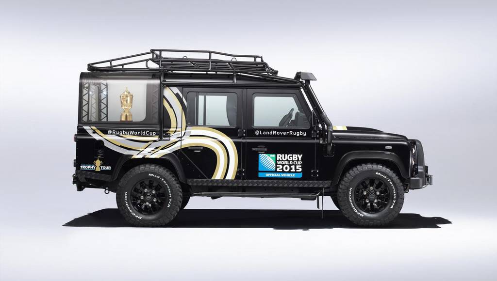 Land Rover 110 Defender Station Wagon for Rugby World Cup 2015