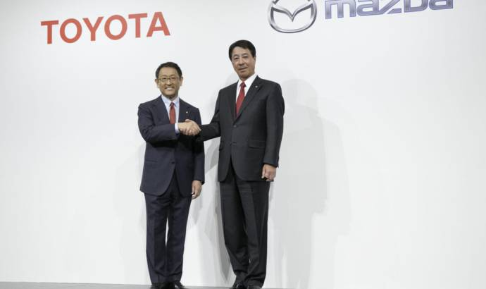 Mazda and Toyota sign new partnership