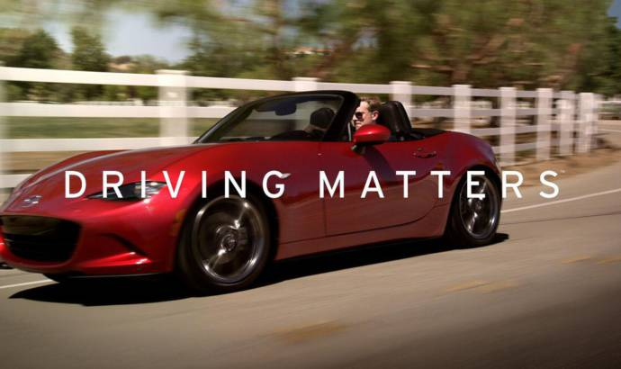 """Mazda launches """"Driving Matters"""" campaign"""
