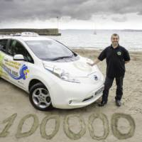 Nissan Leaf Taxi clocks 100.000 miles