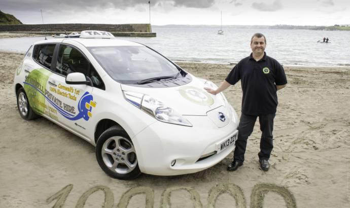 Nissan Leaf Taxi clocks 100.000 miles