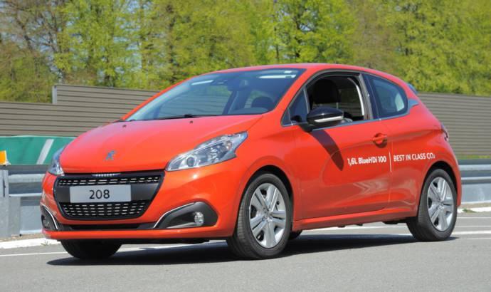 Peugeot 208 BlueHDI world record consumption figures