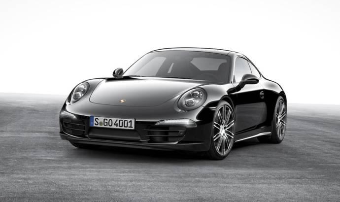 Porsche 911 Carrera and Boxster Black Edition