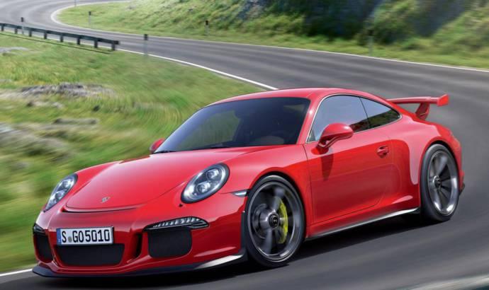 Porsche 911 GT3 RS driven on Hockenheim