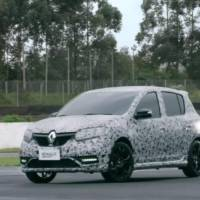 Renault Sandero RS - Another video teaser