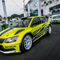 Skoda Fabia Combi R5 unveiled in Worthersee