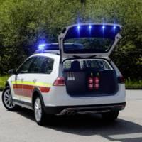 Volkswagen Golf Alltrack command car introduced