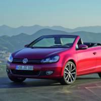 Volkswagen Golf Cabriolet receives Euro 6 engines