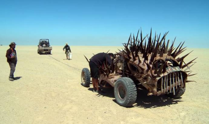 Mad Max Fury Road and the epic vehicles - Video