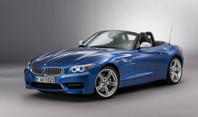 2016 BMW Z4 facelift has a new exterior color