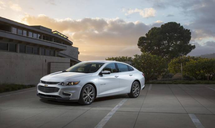 2016 Chevrolet Malibu weighs 300 pounds less