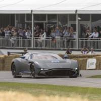 Aston Martin Vulcan made an appearance at Goodwood