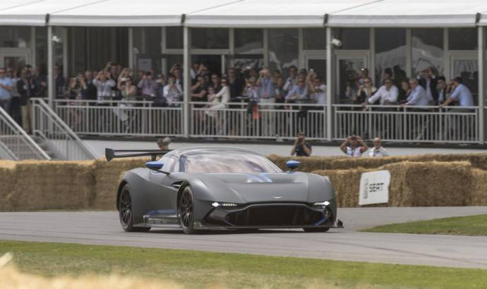Aston Martin Vulcan made an appearance at Goodwood